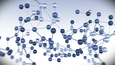 4 K Complex Molecule Structure 7 Stock Video Footage