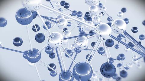 4 K Complex Molecule Structure 9 Stock Video Footage