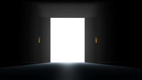 4 K Mysterious Door 1 Animation