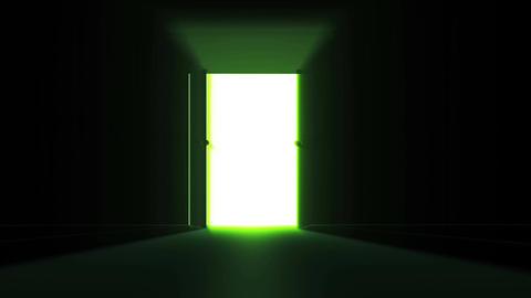 4 K Mysterious Door 3 Stock Video Footage