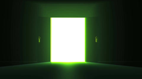 4 K Mysterious Door 3 Animation