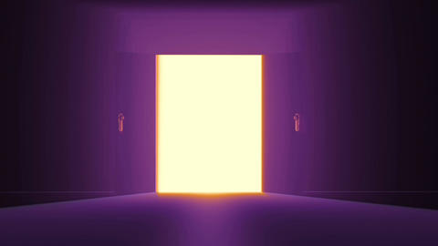 4 K Mysterious Door 5 Animation