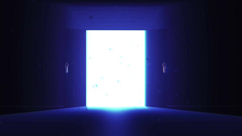 4 K Mysterious Door 9 magic dust Animation