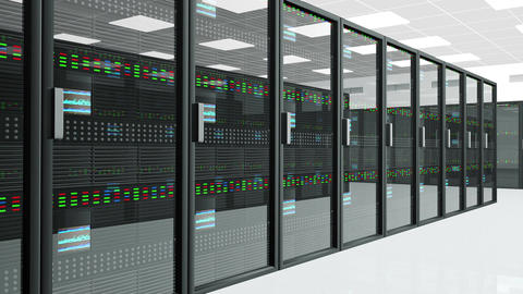 4 K Server Room 1 Animation