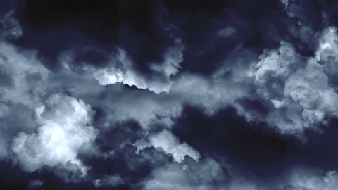 4 K Super Storm 1 Stock Video Footage