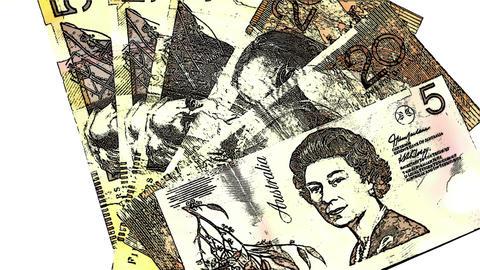 Australian Dollar Banknotes Comic Marvel 1 Footage