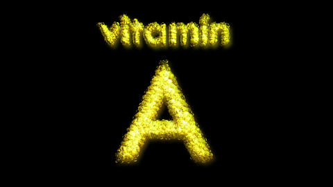 A Vitamin 2 Stock Video Footage