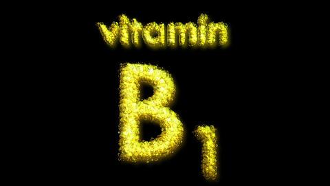B1 Vitamin 2 Stock Video Footage