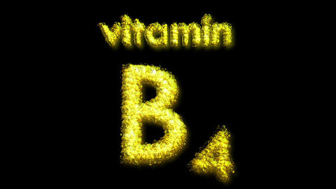 B4 Vitamin 2 Stock Video Footage