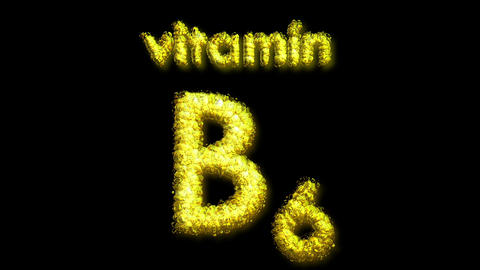 B6 Vitamin 2 Stock Video Footage