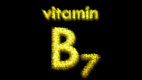 B7 Vitamin 2 Stock Video Footage