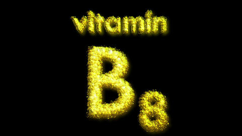 B8 Vitamin 2 Stock Video Footage