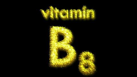 B8 Vitamin 2 Stock Video Footage