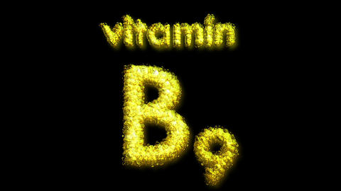 B9 Vitamin 2 Stock Video Footage