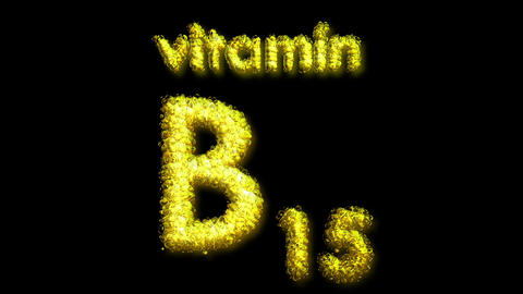 B 15 Vitamin 2 Stock Video Footage