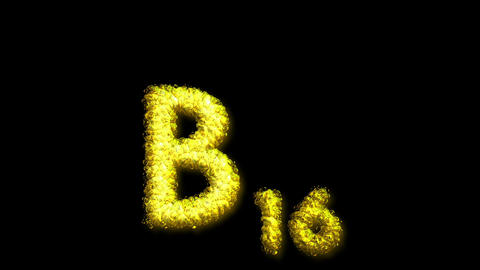 B16 Vitamin 2 Stock Video Footage