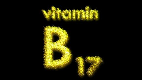 B17 Vitamin 2 Stock Video Footage