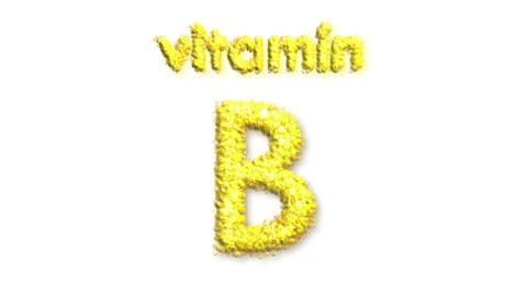 B Vitamin Stock Video Footage