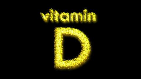 D Vitamin 2 Stock Video Footage