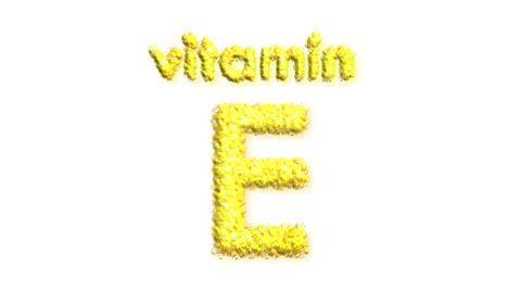 E Vitamin Stock Video Footage