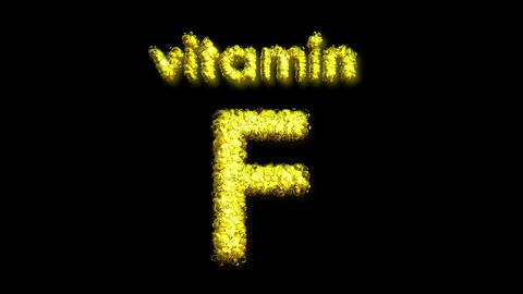 F Vitamin 2 Stock Video Footage
