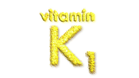 K1 Vitamin Stock Video Footage