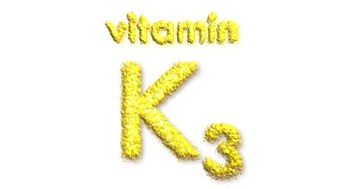 K3 Vitamin Stock Video Footage