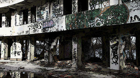 Scary Abandoned Building Domic Marvel 3 Footage