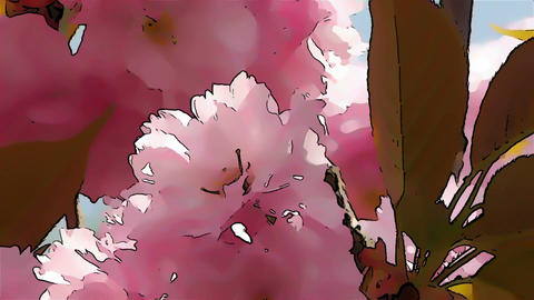 Springtime Blossoming Tree Comic Marvel 3 Footage