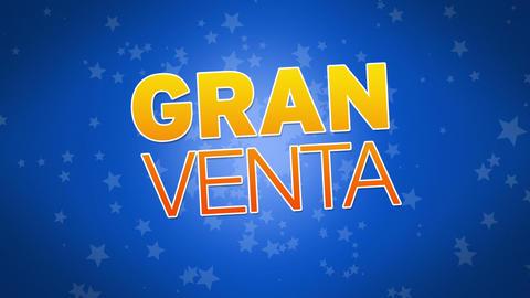Big Sale Advertisement (In Spanish) Stock Video Footage