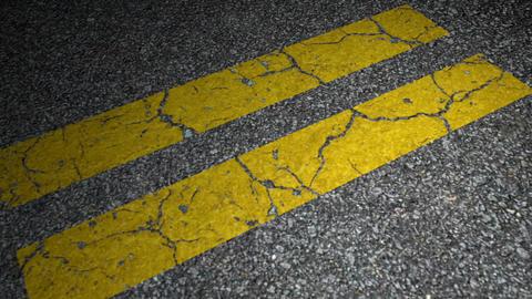 Yellow lane Stock Video Footage