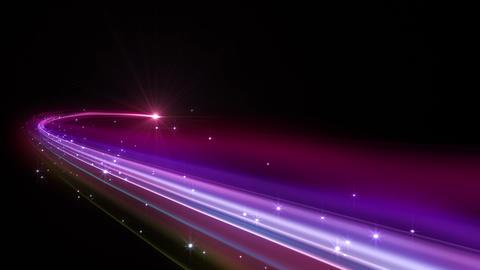 Light streaks E 2 Aa HD Stock Video Footage