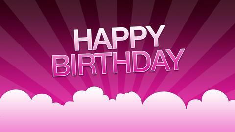 Happy Birthday Advertisement Animation