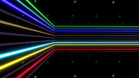 Neon tube R b C 2h HD Stock Video Footage