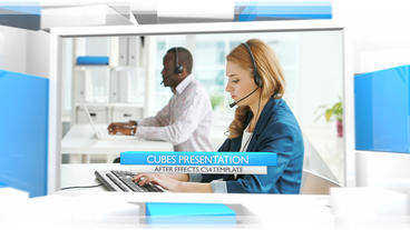 Cubes Presentation - After Effects Template After Effects Template