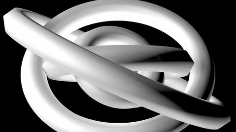 white donuts rotation Stock Video Footage