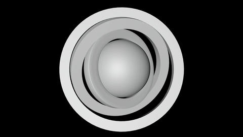 planet sphere orbit Stock Video Footage