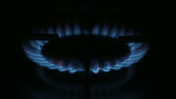Gas Hob Flame Stock Video Footage