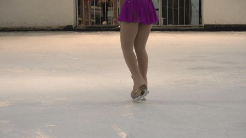 Performance on Ice HD Stock Video Footage