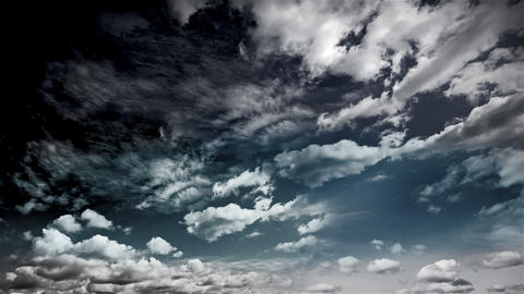 sky CLOUDS 3 Stock Video Footage