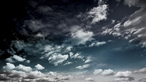 Sky CLOUDS 3 stock footage