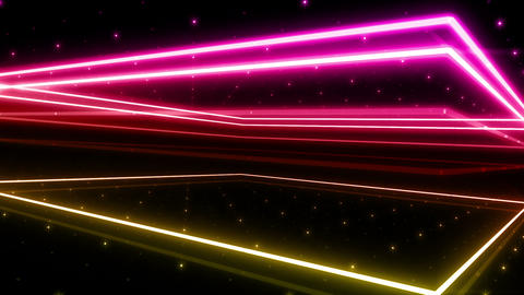 Neon tube R b A 4h HD CG動画