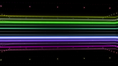 Neon tube R b B 4h HD Stock Video Footage