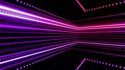 Neon tube R b C 4h HD Stock Video Footage