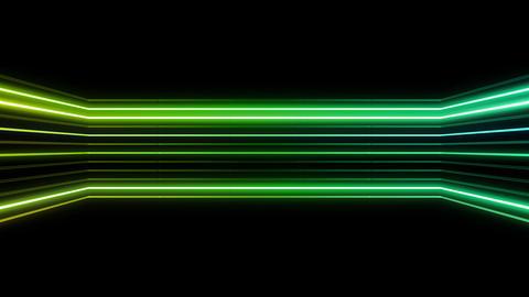 Neon tube R b D 4h HD Stock Video Footage
