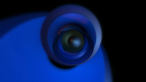 orbital eye ball Stock Video Footage