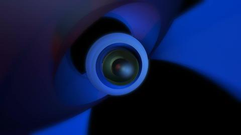 orbital eye ball Animation