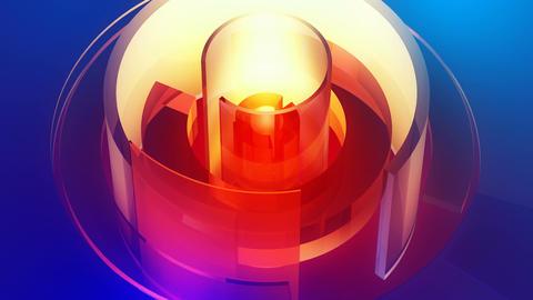 softlights reactor shell Stock Video Footage