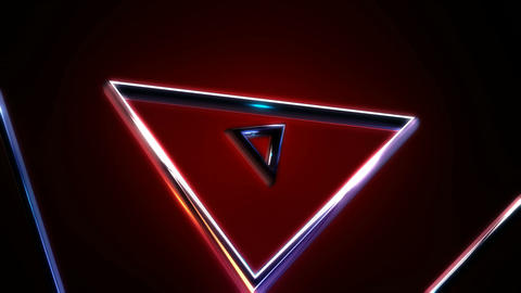 triangle metal spotligts Animation