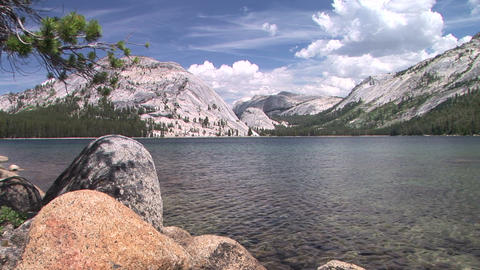 Tenaya Lake Stock Video Footage
